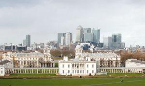 Blick aus Greenwich über die Stadt