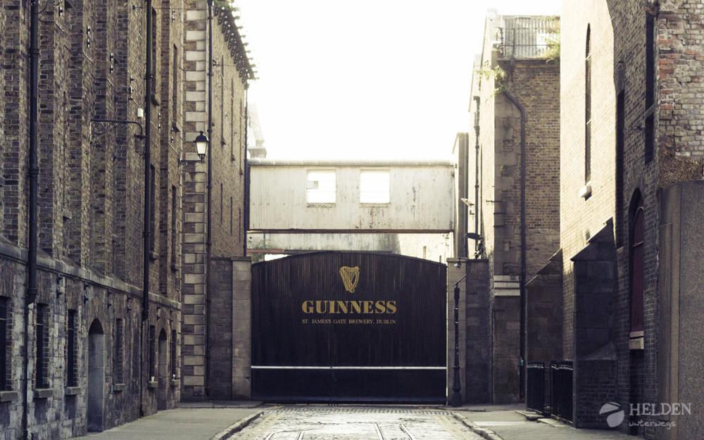 Guinness Brauerei in Dublin / Irland