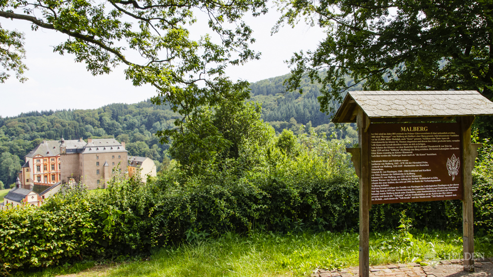 Eifel-Schloss-Malberg