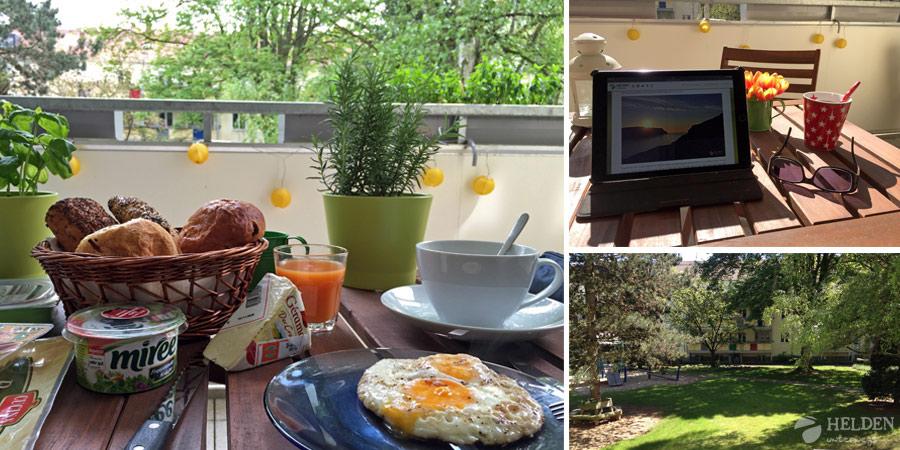 Frühstück zusammen in Köln