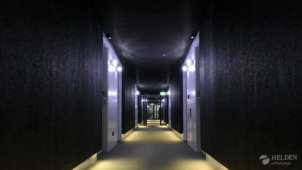 Im Flur zu den Comfort+ Zimmer