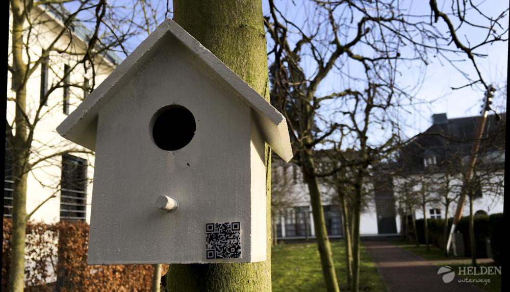 Vogelhäusschen im Park vom Schloss Vaeshartelt