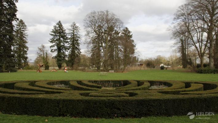 Im Park vom Schloss Vaeshartelt