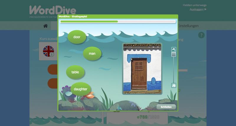 WordDive - Das Einstiegsspiel