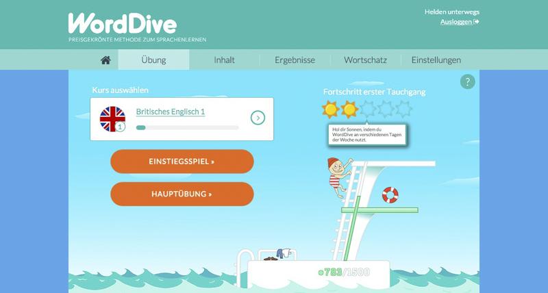 WordDive - Übersicht