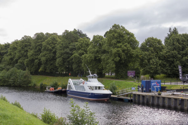 Caledonian Canal Ship