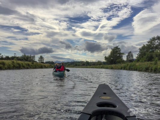 Canoeing Caledonian Canal