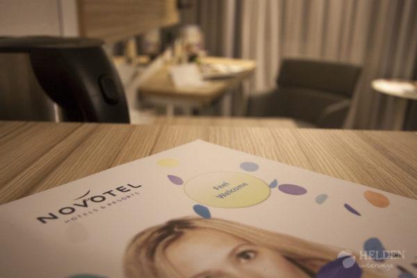 Novotel - Welcome. Die Zimmer sind selbstverständlich Nichtraucher-Zimmer