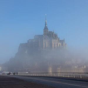 Klosterberg Mont Saint-Michel in der Normandie
