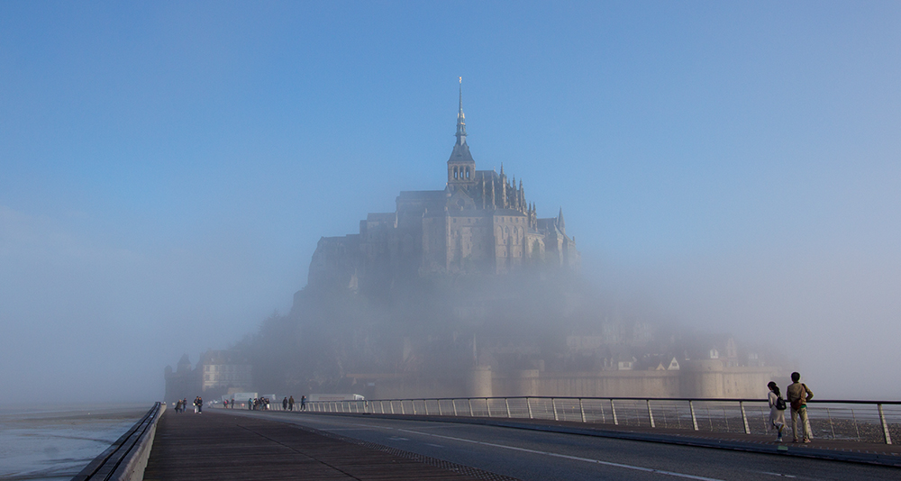 Klosterberg Mont Saint-Michel in der Normandie