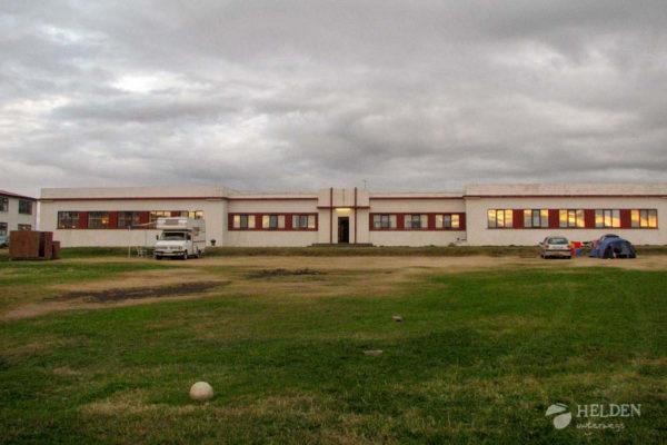 Ein Isländischer Campingplatz
