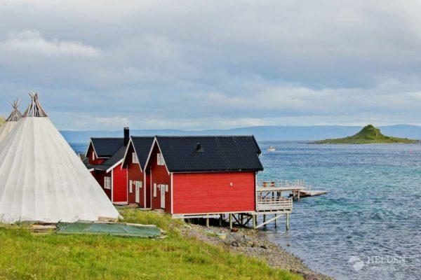 Insel Magerøya in Norwegen