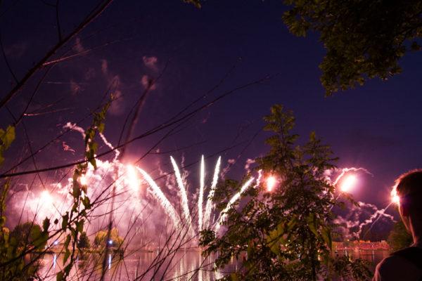 Feuerwerk Metz Nationalfeiertag